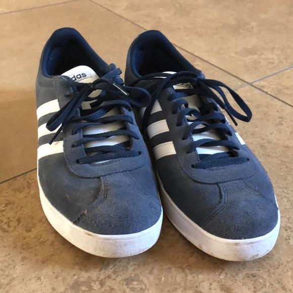 adidas Other - Men's navy adidas with 3 white stripes